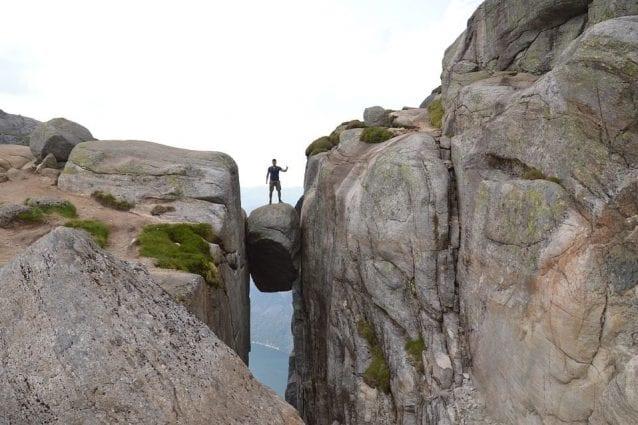 Kjerag, il masso da brivido in Norvegia